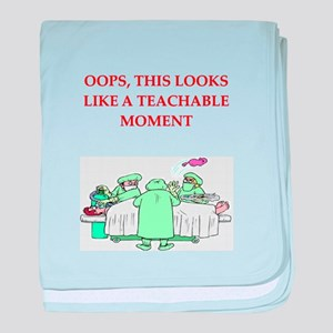doctor joke baby blanket