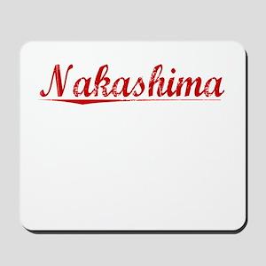 Nakashima, Vintage Red Mousepad