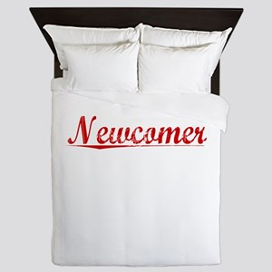 Newcomer, Vintage Red Queen Duvet