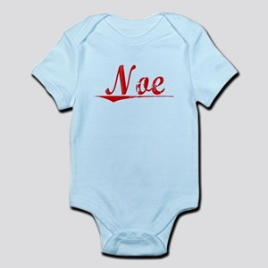 Noe, Vintage Red Infant Bodysuit