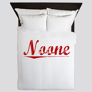 Noone, Vintage Red Queen Duvet