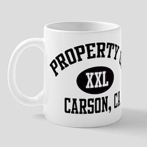 Property of CARSON Mug