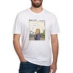 Bol's Eye Funny Poker/gambling Fitted T-Shirt