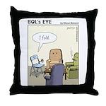 Bol's Eye Throw Pillow