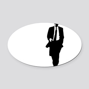 bigobama Oval Car Magnet
