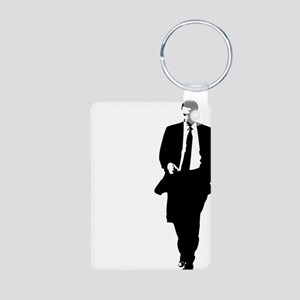 bigobama Aluminum Photo Keychain