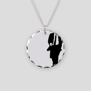 bigobama Necklace Circle Charm