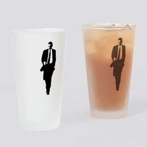 bigobama Drinking Glass
