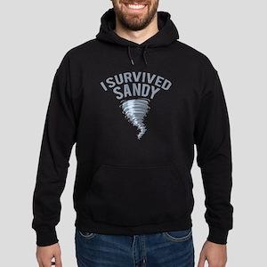 I Survived Hurricane Sandy Hoodie (dark)