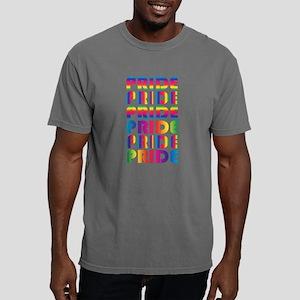 Multicolor PRIDE Sportsw Mens Comfort Colors Shirt