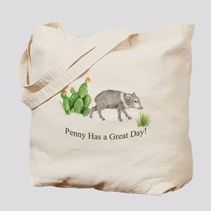 Penny Has a Great Day Tote Bag