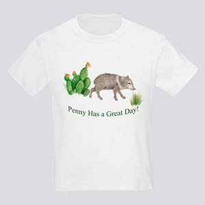 Penny Has a Great Day Kids Light T-Shirt