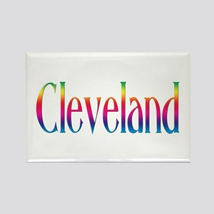 Cleveland Rectangle Magnet (100 pack)