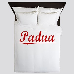 Padua, Vintage Red Queen Duvet