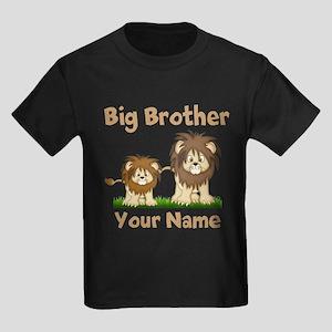 Big Brother Lions Kids Dark T-Shirt