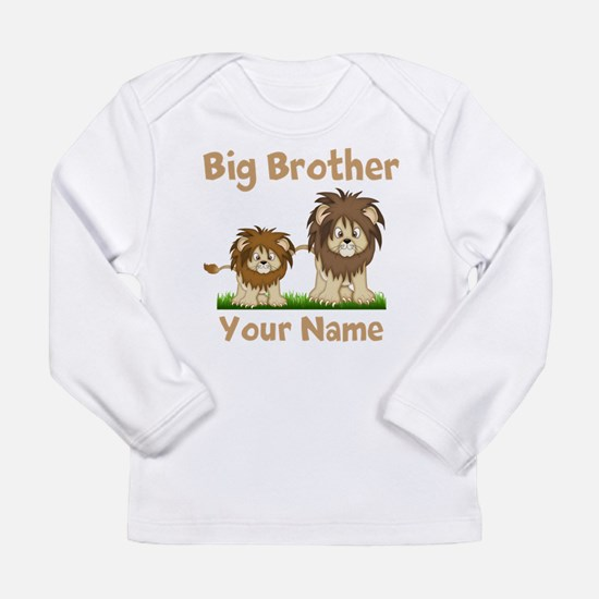 Big Brother Lions Long Sleeve Infant T-Shirt