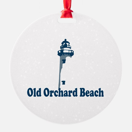 Old Orchard Beach ME - Lighthouse Design. Ornament