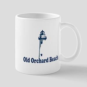 Old Orchard Beach ME - Lighthouse Design. Mug