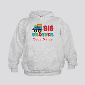 Big Brother Train Personalized Kids Hoodie