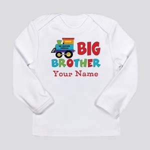 Big Brother Train Personalized Long Sleeve Infant