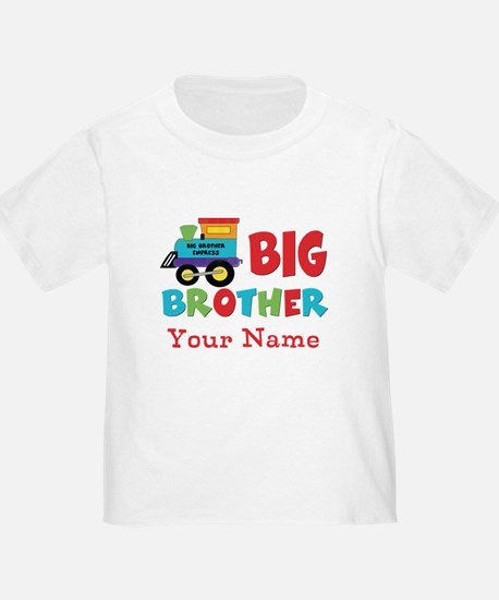 Big Brother Train Personalized T
