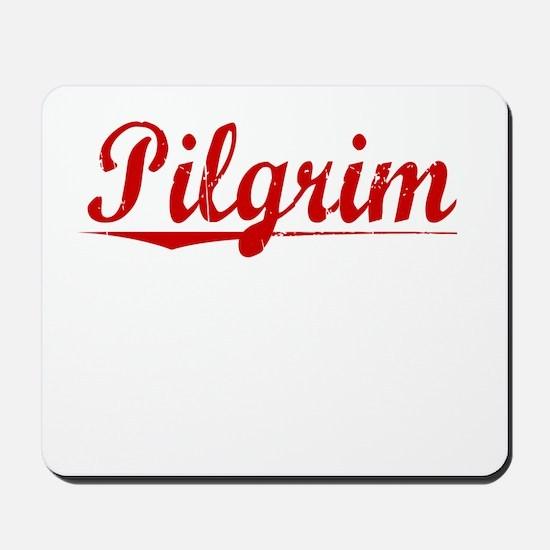 Pilgrim, Vintage Red Mousepad
