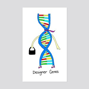 Designer Genes Sticker (Rectangle)