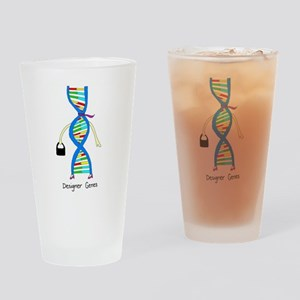 Designer Genes Drinking Glass