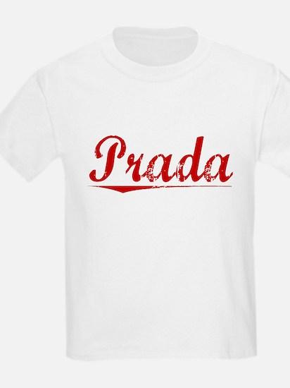 Prada, Vintage Red T-Shirt