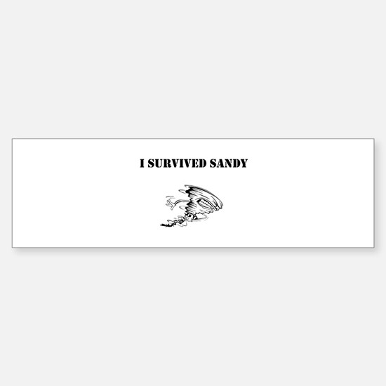 Sandy Sticker (Bumper)