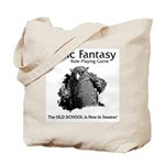 Owlbear Retro Tote Bag