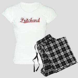 Pritchard, Vintage Red Women's Light Pajamas