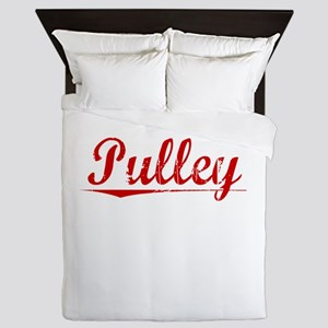 Pulley, Vintage Red Queen Duvet