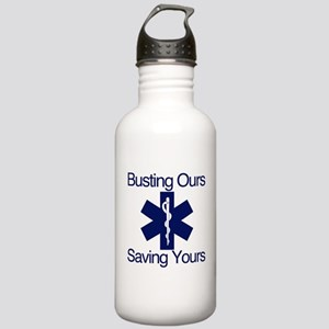 Busting Ours, Saving Yours Stainless Water Bottle
