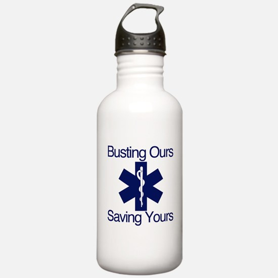 Busting Ours, Saving Yours Water Bottle