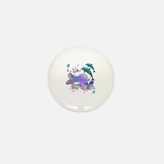 Cool Vapor Mini Button
