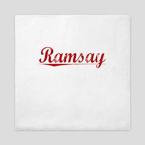 Ramsay, Vintage Red Queen Duvet