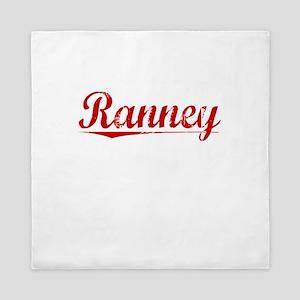 Ranney, Vintage Red Queen Duvet