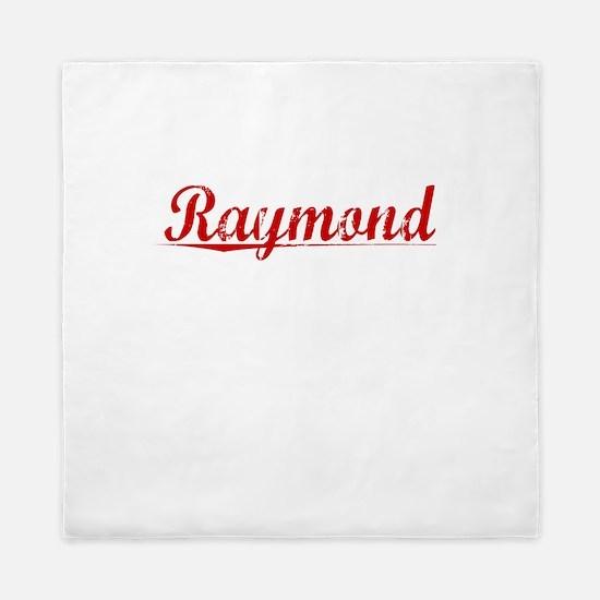 Raymond, Vintage Red Queen Duvet