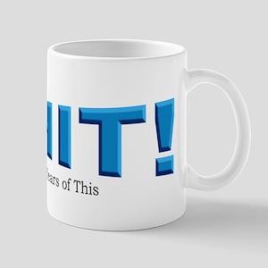 Oh no sticker Mug