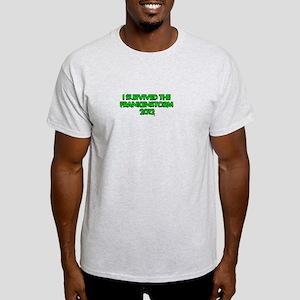 I Survived the Frankenstorm of 2012 Light T-Shirt