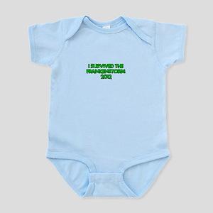 I Survived the Frankenstorm of 2012 Infant Bodysui
