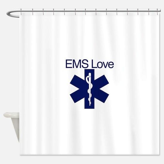 EMS Love Shower Curtain