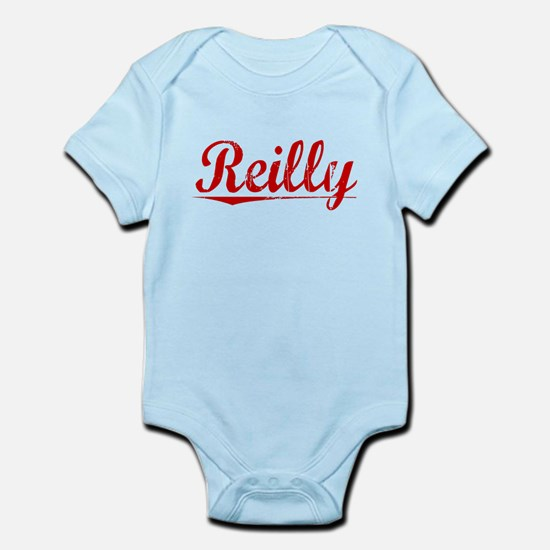 Reilly, Vintage Red Infant Bodysuit