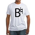 B Natural Fitted T-Shirt