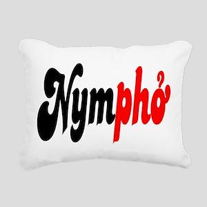 Nympho Rectangular Canvas Pillow