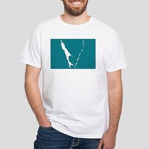 Sakhalin Flag White T-Shirt