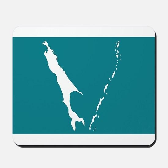 Sakhalin Flag Mousepad