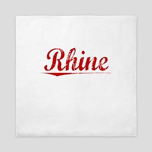 Rhine, Vintage Red Queen Duvet