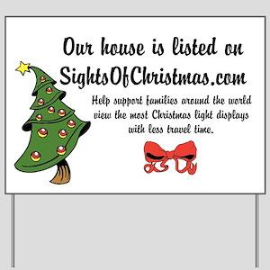 SightsOfChristmas Yard Sign